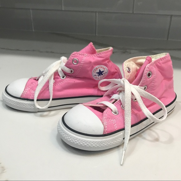 Converse Other - Converse Size 10 Toddler Pink All Star Shoes